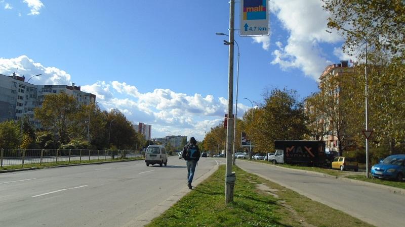 Нови тротоари ще бъдат изградени по пътя Варна – Златни пясъци