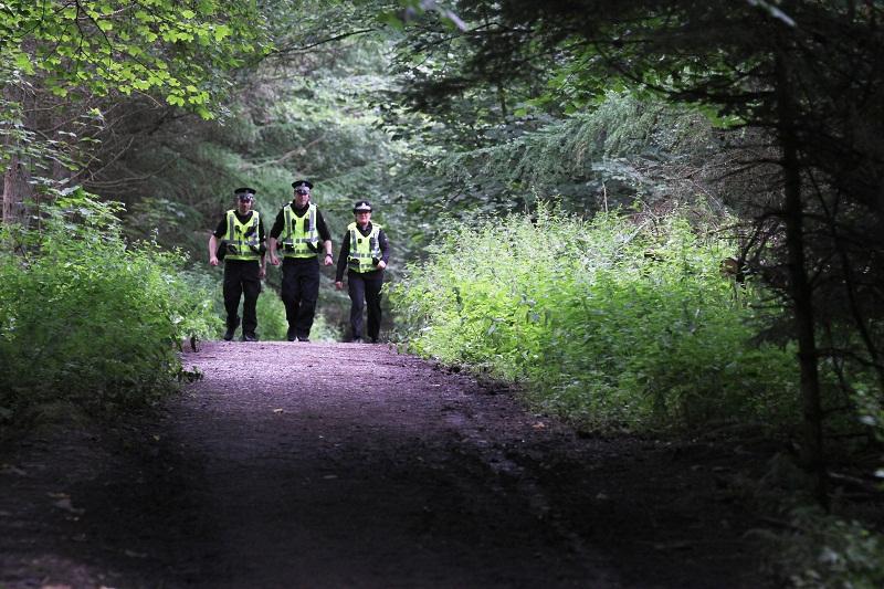 В продължение на 2 часа издирваха изгубили се в гората младежи