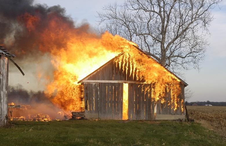 Къща е изгоряла призори в с. Китка, общ. Аврен
