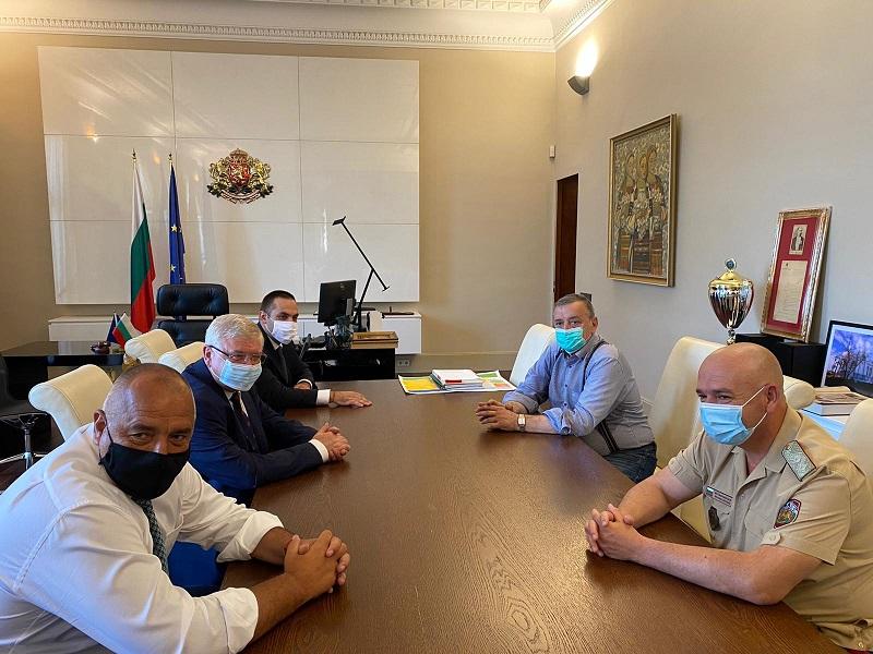 Бойко Борисов проведе работна среща с Националния оперативен щаб