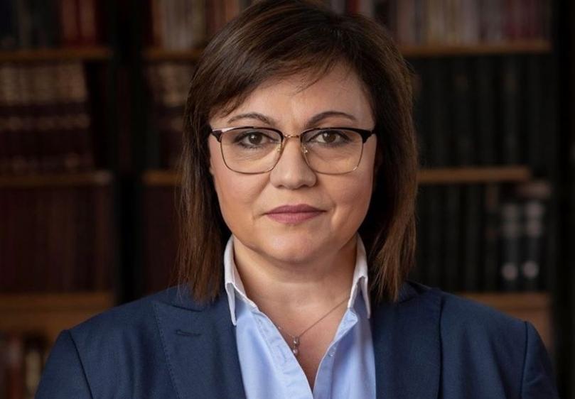 Нинова: Борисов е символ на разграждането на държавността и няма как да е олицетворение на рестарта ѝ