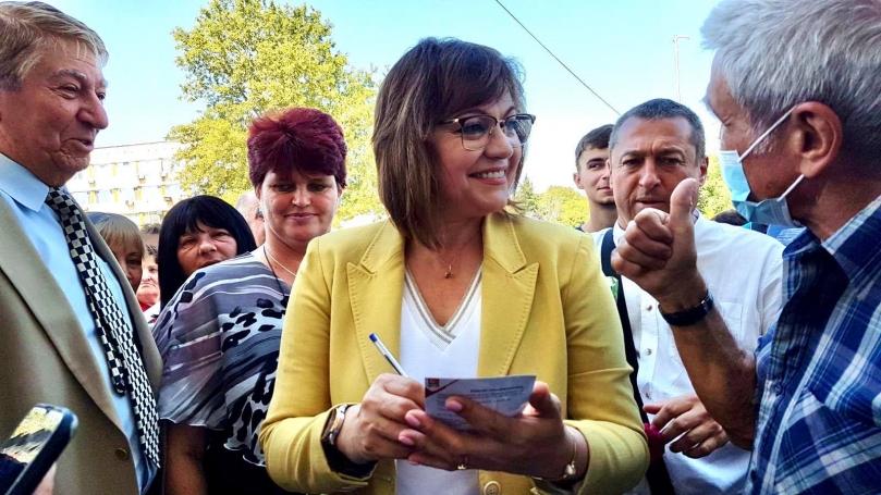 Корнелия Нинова: Решили сме какви да са мерките за социално и икономическо развитие на Северозапада