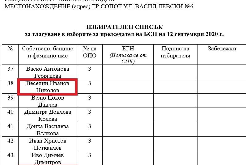 Списъците на Нинова за изборите в БСП пълни с бивши социалисти