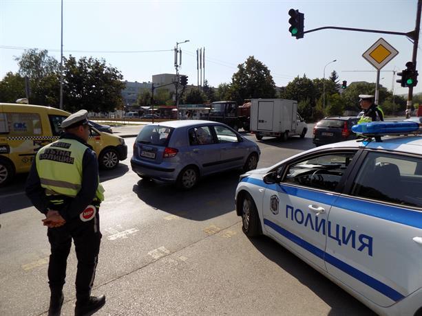 В ход е акция за гарантиране безопасността на движението по пътищата