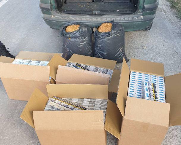 Голямо количество цигари без акцизен бандерол задържаха служители на ОДМВР – Варна при специализирана операция