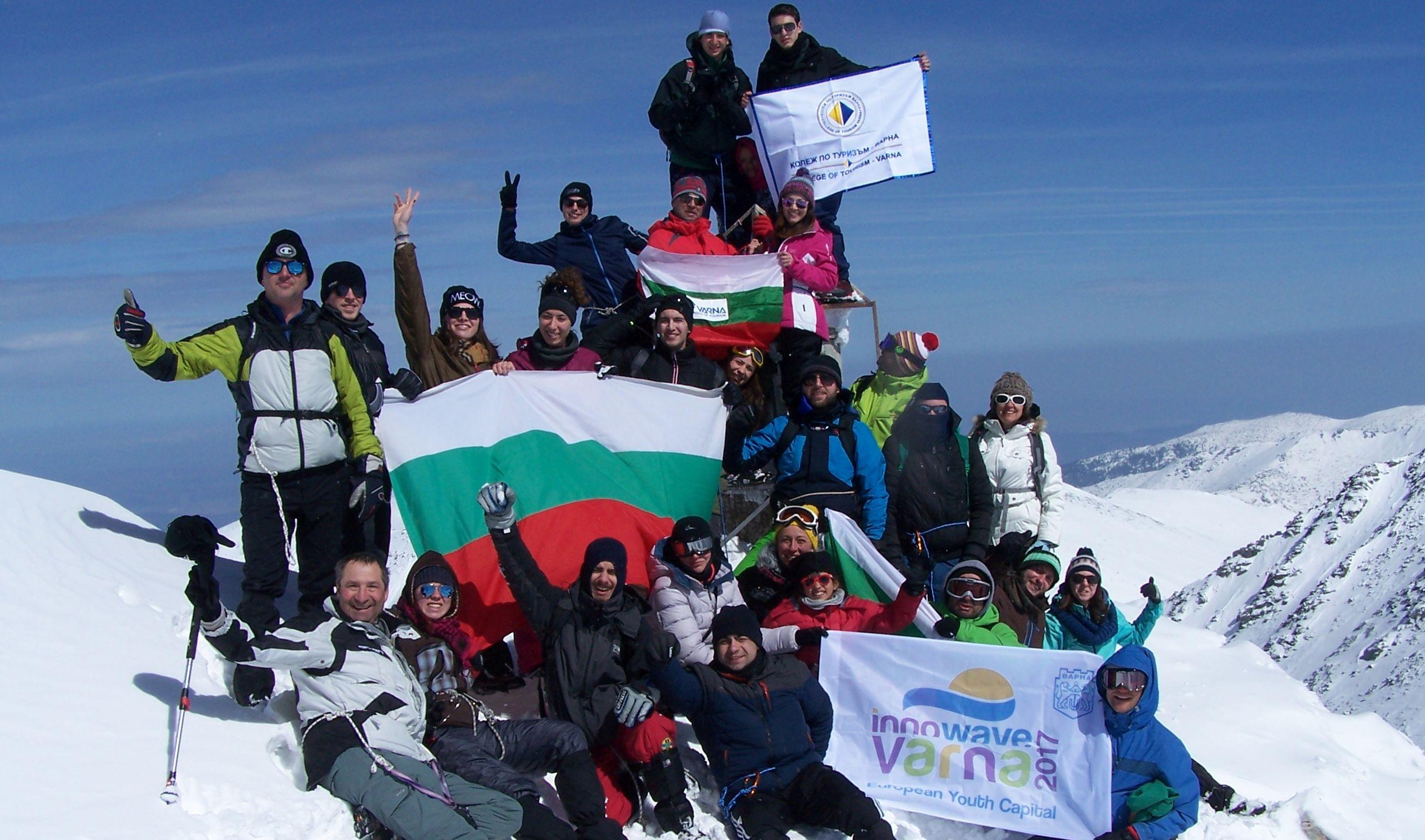 Европейската младежка столица покори връх Мусала