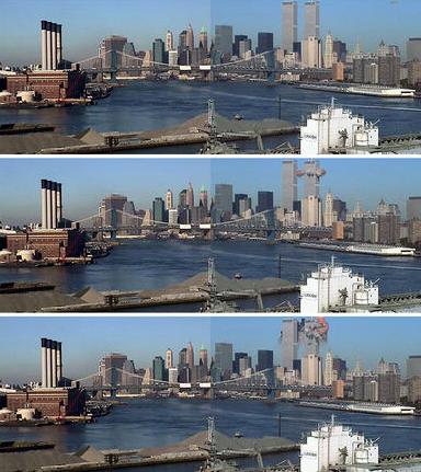 Редки снимки от трагичния 11.09.2001