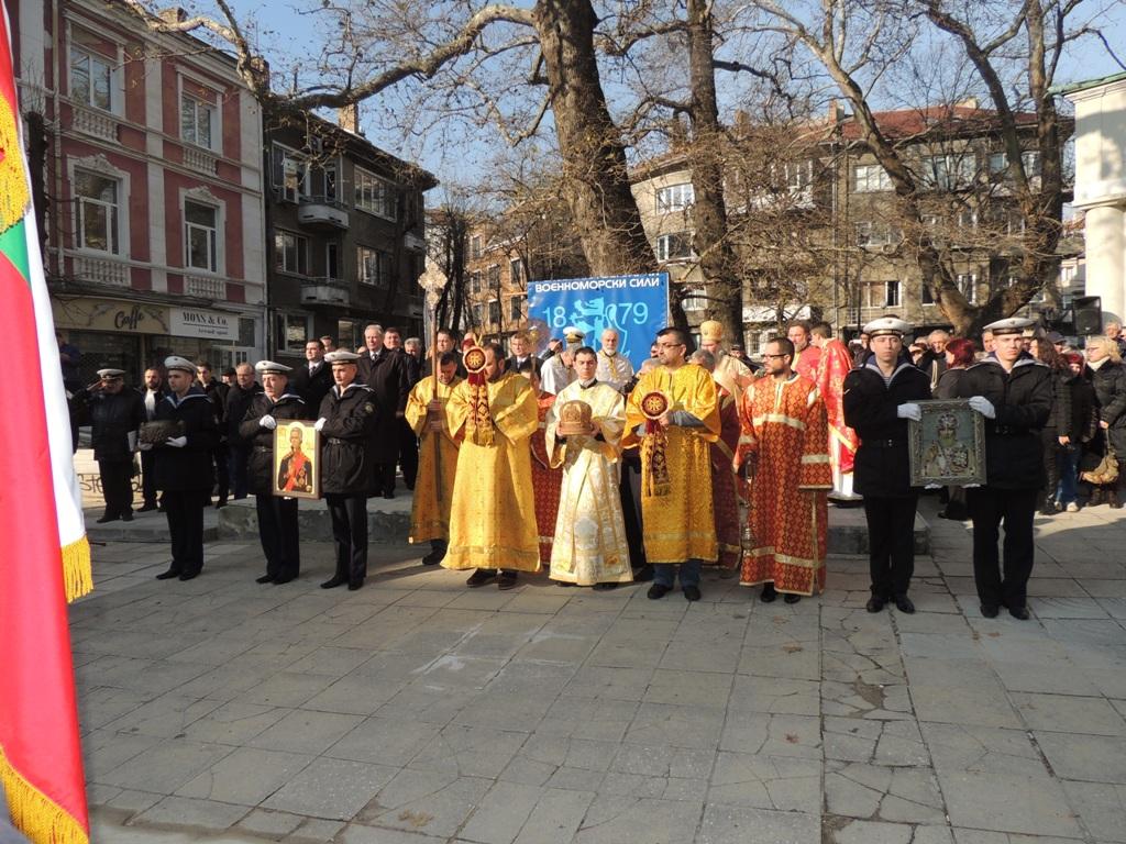 Военноморските сили участват в тържествата по случай деня на св. Николай Мирликийски – закрилник на моряците