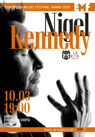 Коледни билети за концерта на Найджъл Кенеди във Варна само до 31 декември