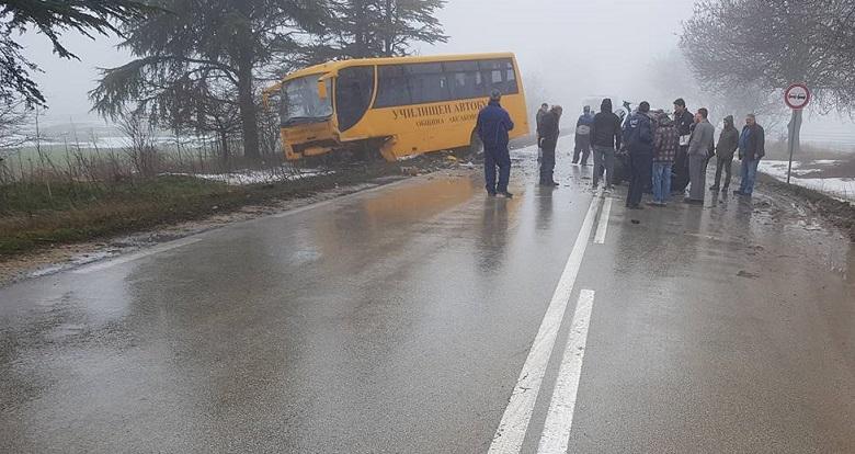 43-годишен мъж от Добрич и възрастна жена са загиналите в катастрофата между Добрич и Варна