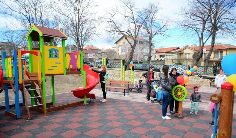 Детска площадка и спортно игрище откриха в Галата