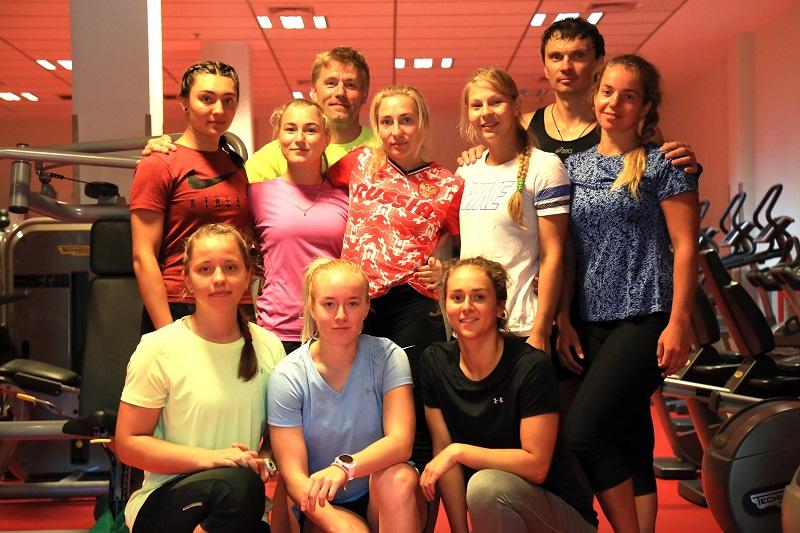 """Руският национален отбор по ски алпийски дисциплини на летен лагер в """"Камчия"""""""