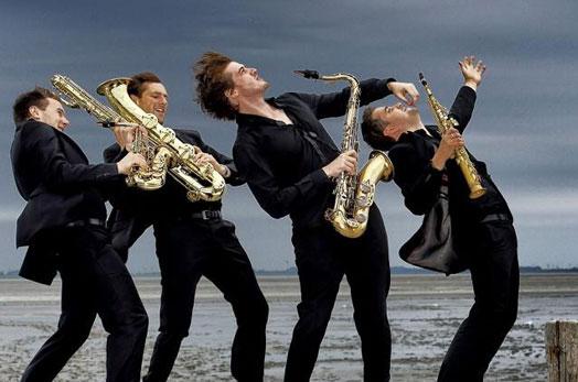 """Квартет """"Сигнум"""" открива Бароковия модул на """"Варненско лято"""" с творби от Бах, изпълнени на четири саксофона"""