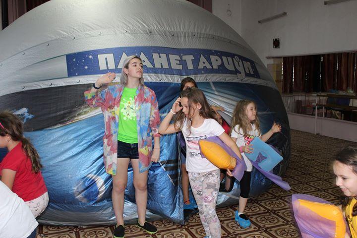 Космическо шоу за деца идва в Grand Mall
