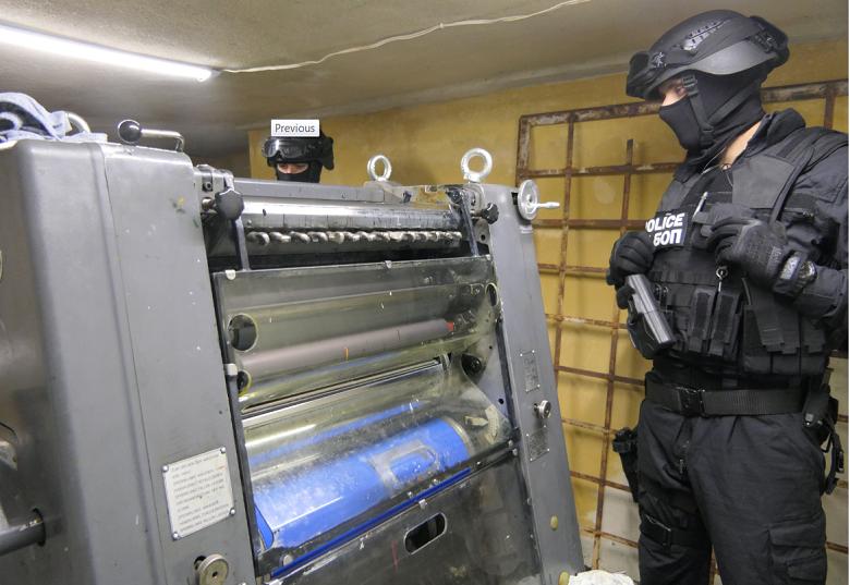 Печатница за фалшиви долари разби ГДБОП във Варна