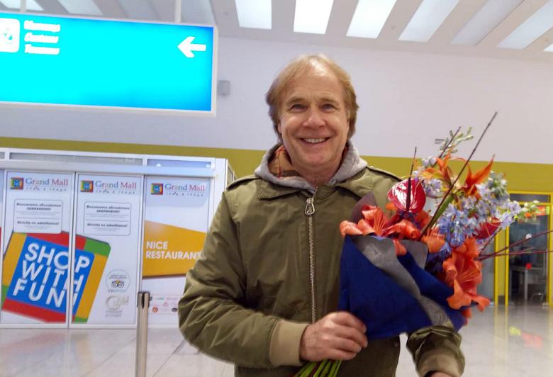 Клайдерман пристигна във Варна